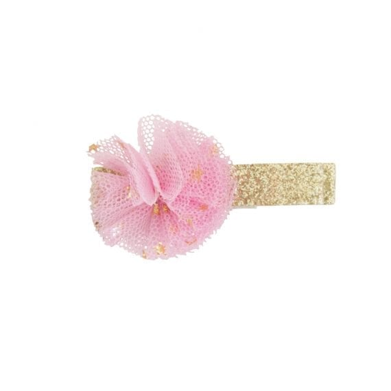 A0426 Hairclips Glitter Tulle