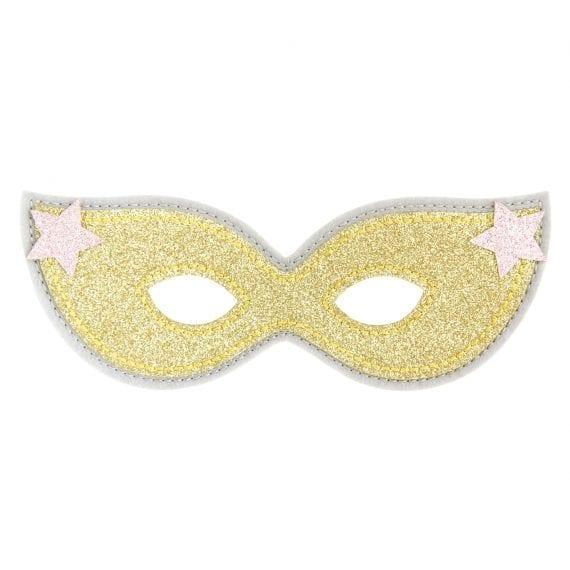 P0207 Mask Glitter Gold
