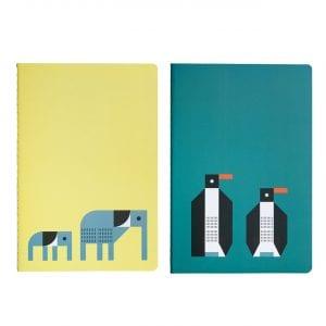 PL0701 Plentimals Notbook set Elephant Penguin