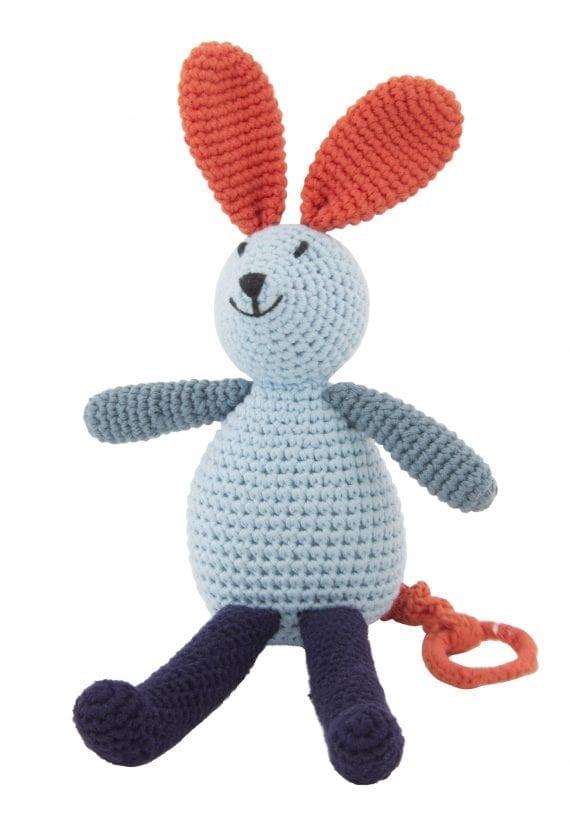 crochet music bunny 2