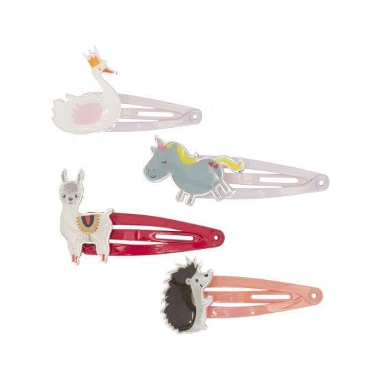 A0439 Hairclips Fairy Animal SET