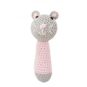 C0218 Crochet Mini Mouse Pink