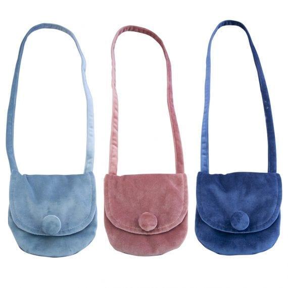 velvet shoulder bags