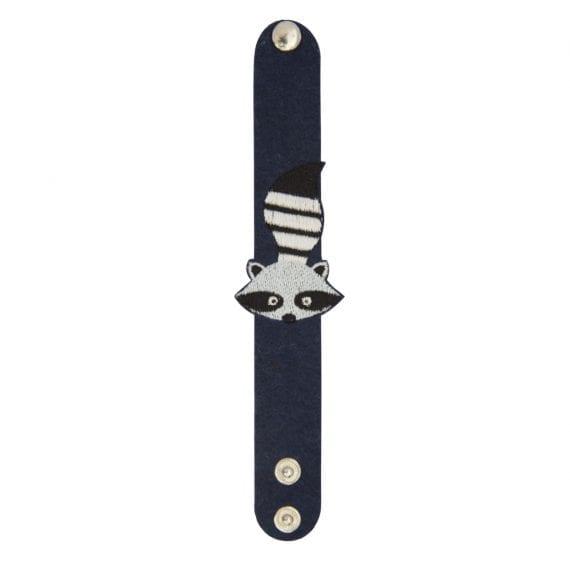 bracelet woodland raccoon