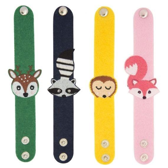 bracelet woodland animals