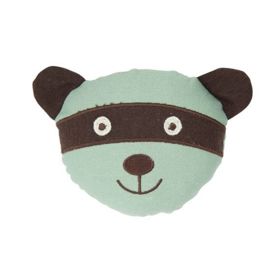 Raccoon Face Rattle Linen