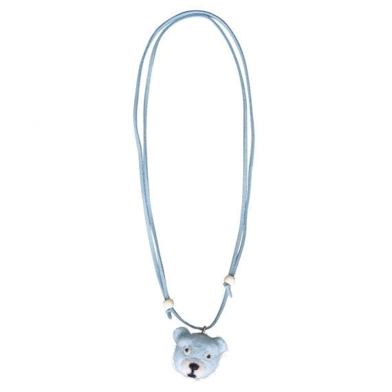 necklace woolfelt bear