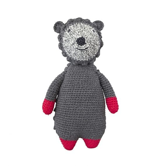 Crochet doll woodland hedgehog