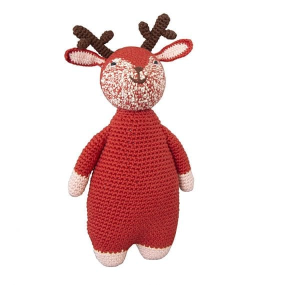 Crochet doll woodland deer