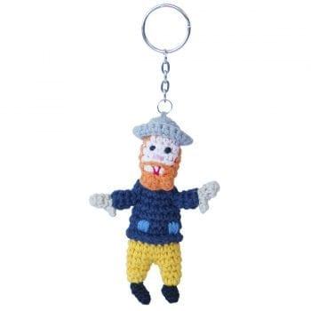 Crochet Keyring Van Gogh