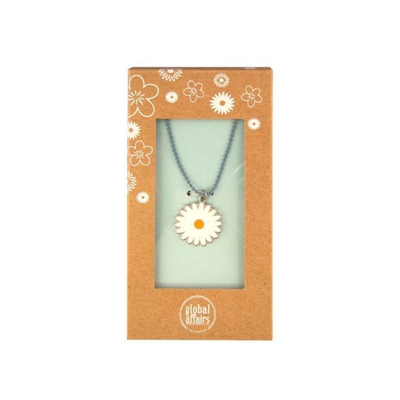 Necklace Flower Daisy Packaging