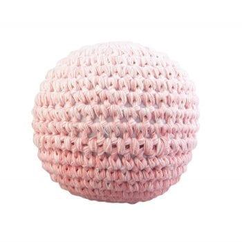 Crochet ball pink