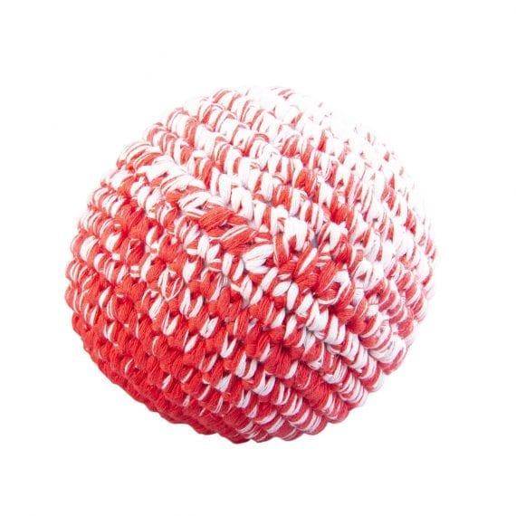 Crochet ball coral