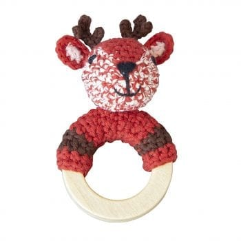 Crochet Rattle Woodland Deer