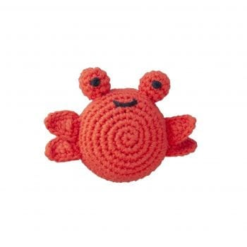 Crochet rattle crab