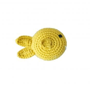 Crochet rattle fish