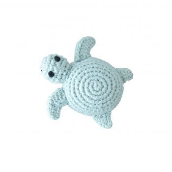 Crochet rattle turtle