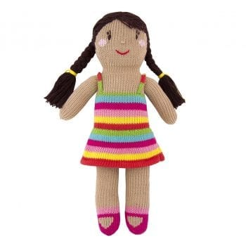 knitted friendly charlotte doll