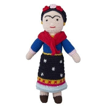 Crochet doll Frida Kahlo