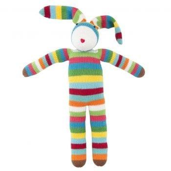 knitted long ear bunny