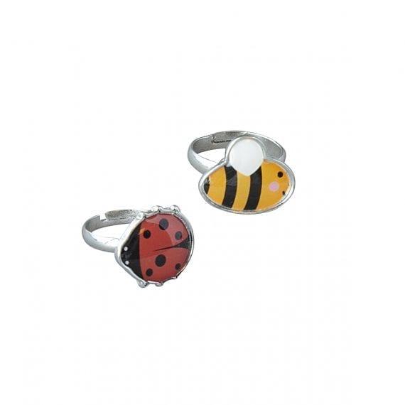 Rings bee ladybird