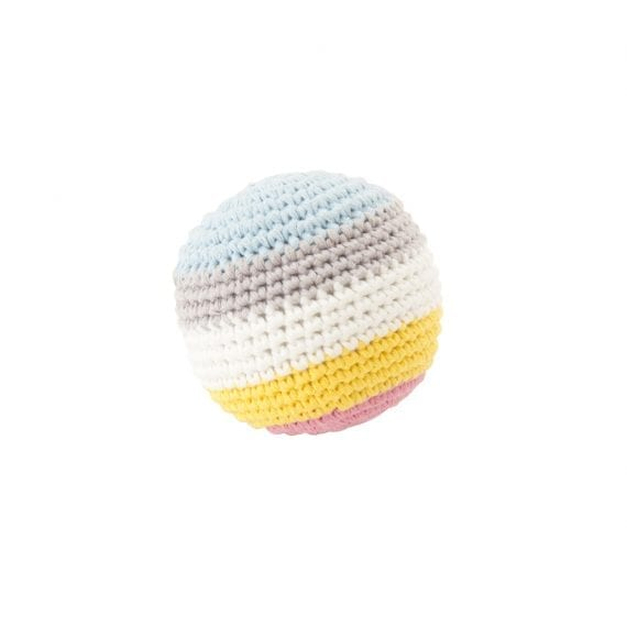 Crochet Ball Small Stripe