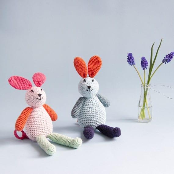 Crochet Music Bunny