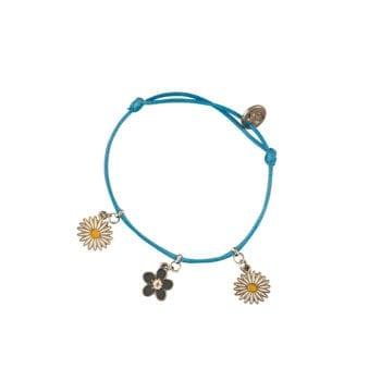 Bracelet Flowers Daisy & Violet