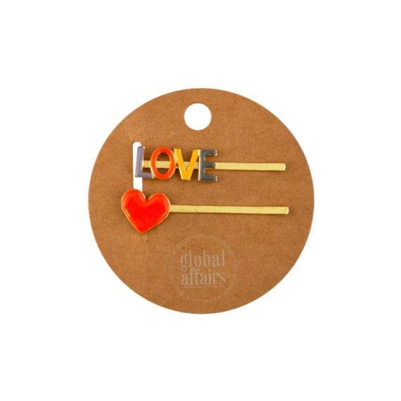 Hairpin Heart en Love