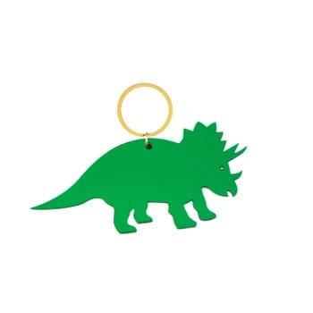 Keyring Dinosaur Green