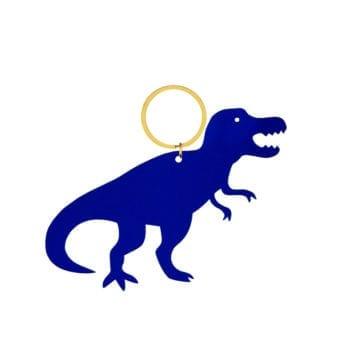 Keyring Dinosaur Blue T Rex