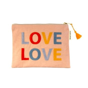 Pouch LOVE Pink