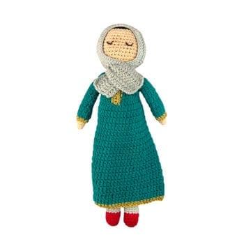 Crochet Doll Farah with Headscarf