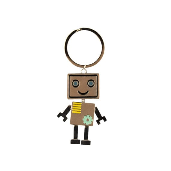 Robot Boy Keyring