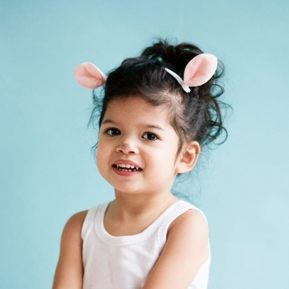 Hairclips Bunny Ears Easter