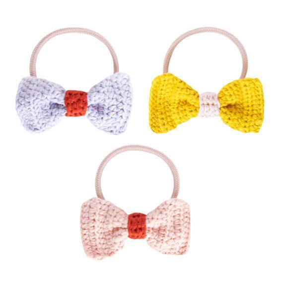 Crochet Hair Elastics Set