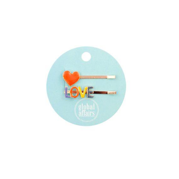 Hairpins Heart Love Packaging